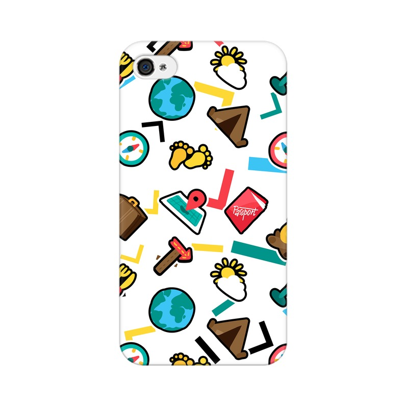 Globe Travel  HTC Desire 820 Back Covers Cases