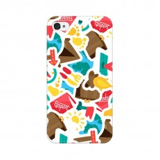 iPhone 4 Back Cover Case, Travel Urban Design iPho...