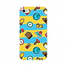iPhone 4 Back Cover Case, Timer Travel Design iPho...