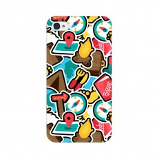 iPhone 4 Back Cover Case, Wasto Travel Design iPho...