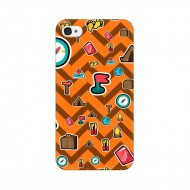 iPhone 4S Back Cover Case, Wave Travel Design iPho...